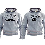 Mr Right Mrs Always Right - Pullover für Couple