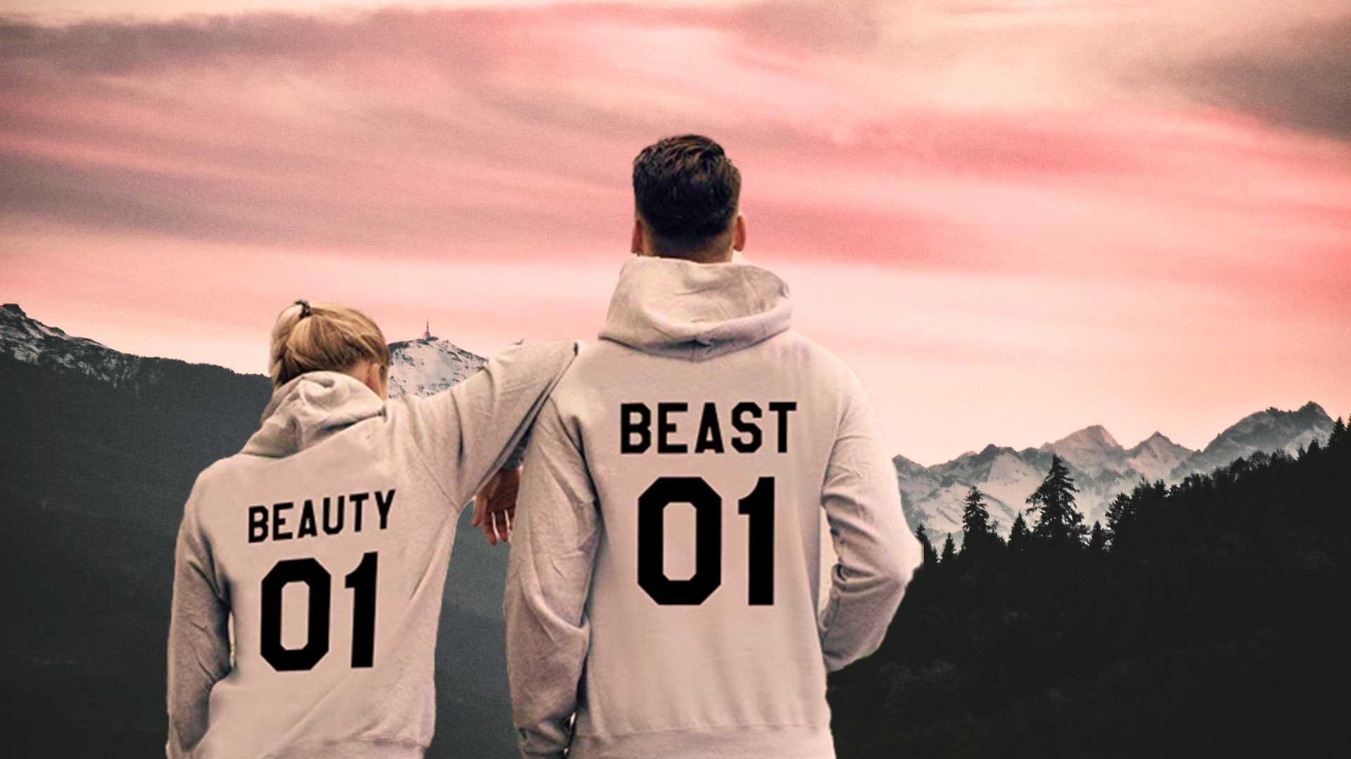 beauty und beast pullis