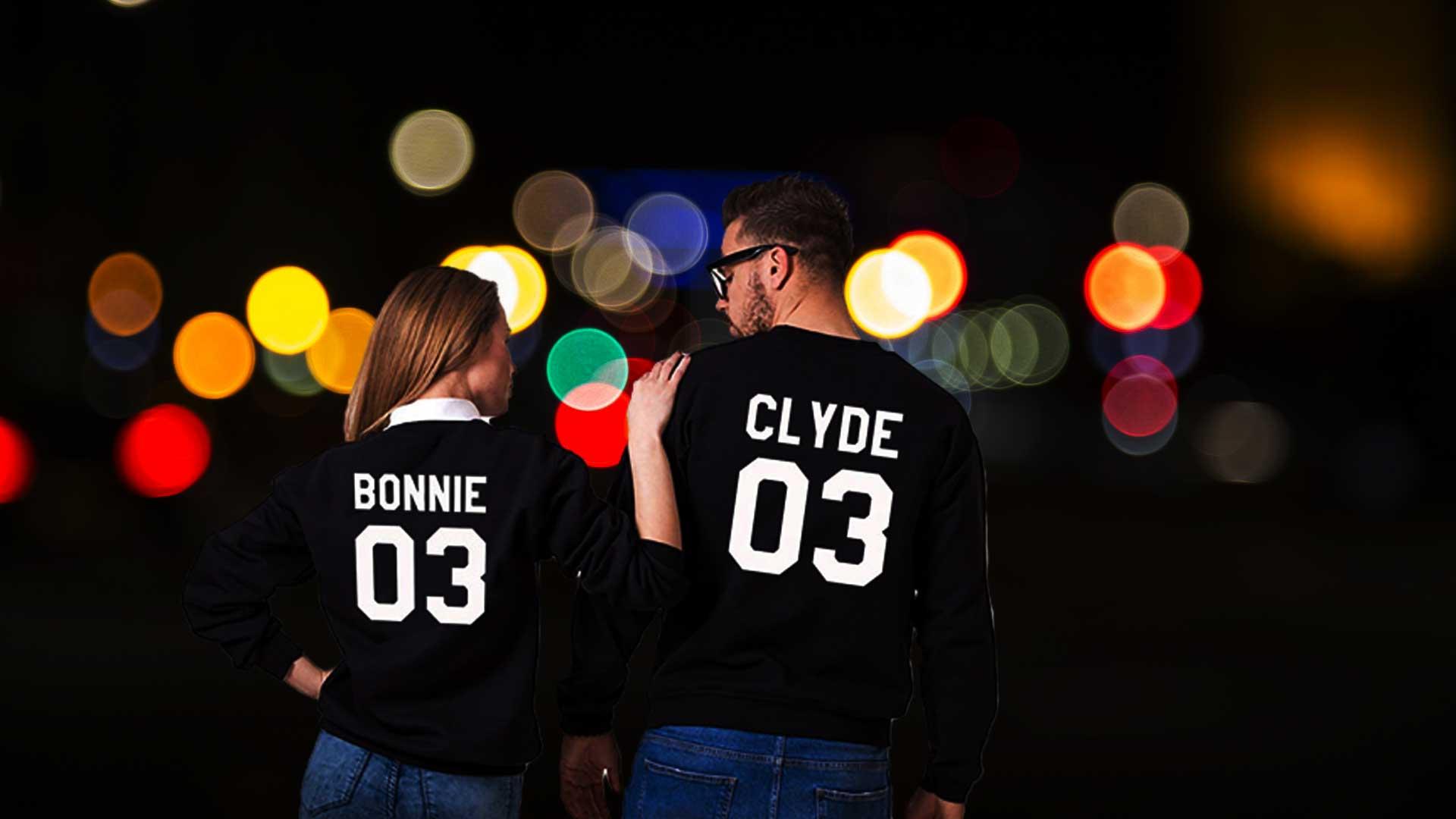 bonnie und clyde pullover