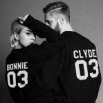 Bonnie und Clyde – Hoodies für Paare