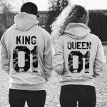 King und Queen – Pärchen Pullover