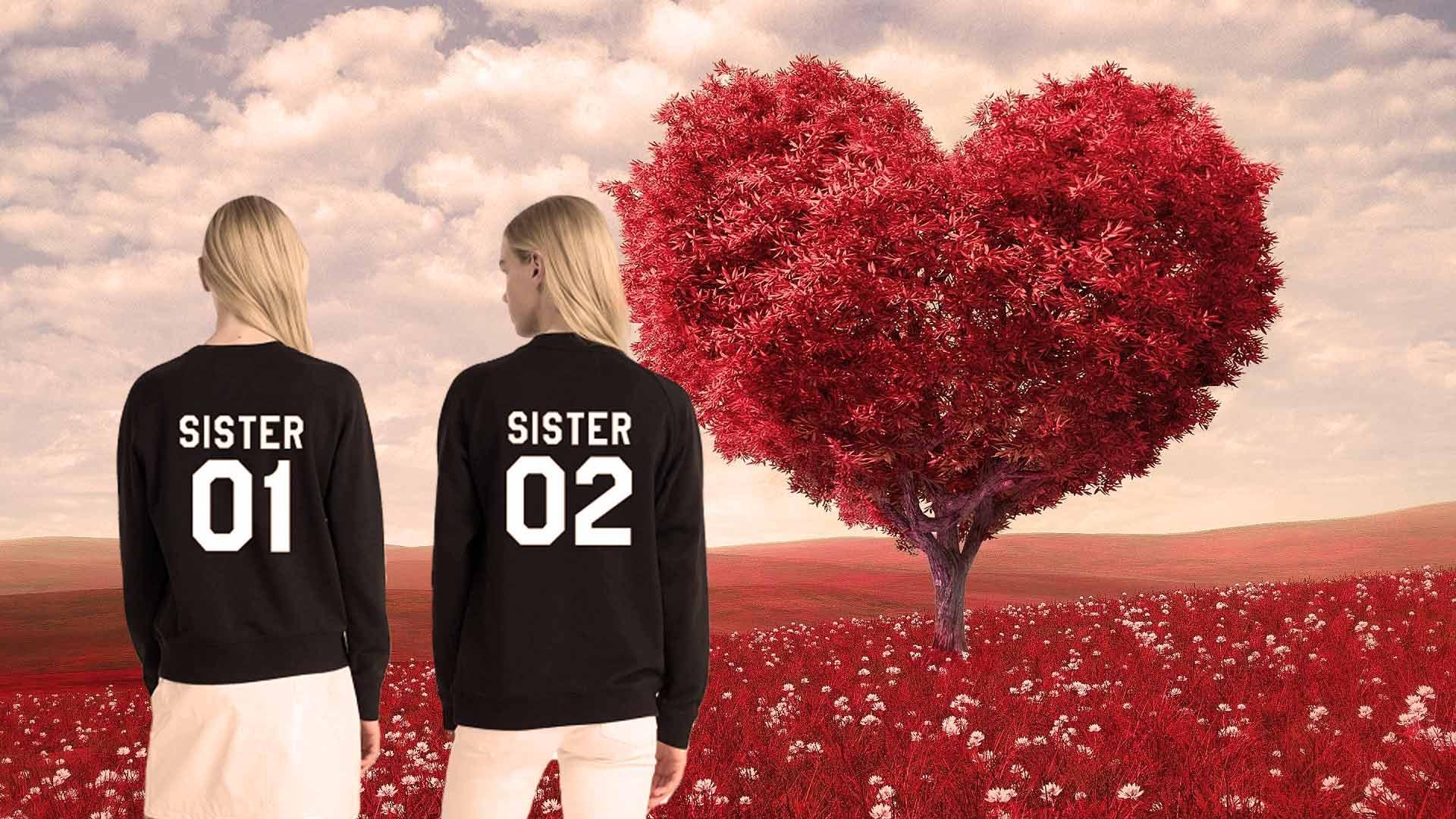 sister sister pullover