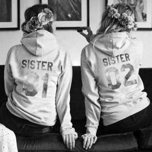 Sister und Sister – BFF Pullover